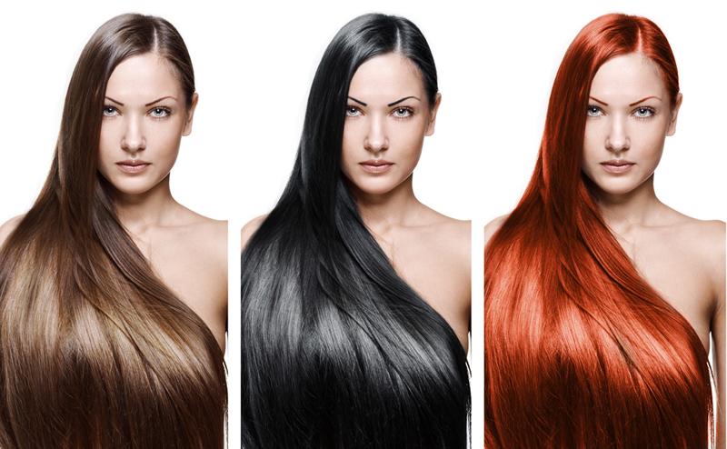 Окраска волос натуральные цвета