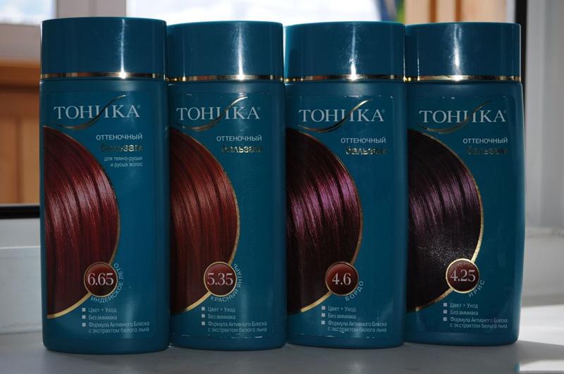 Тоника оттенки для темных волос