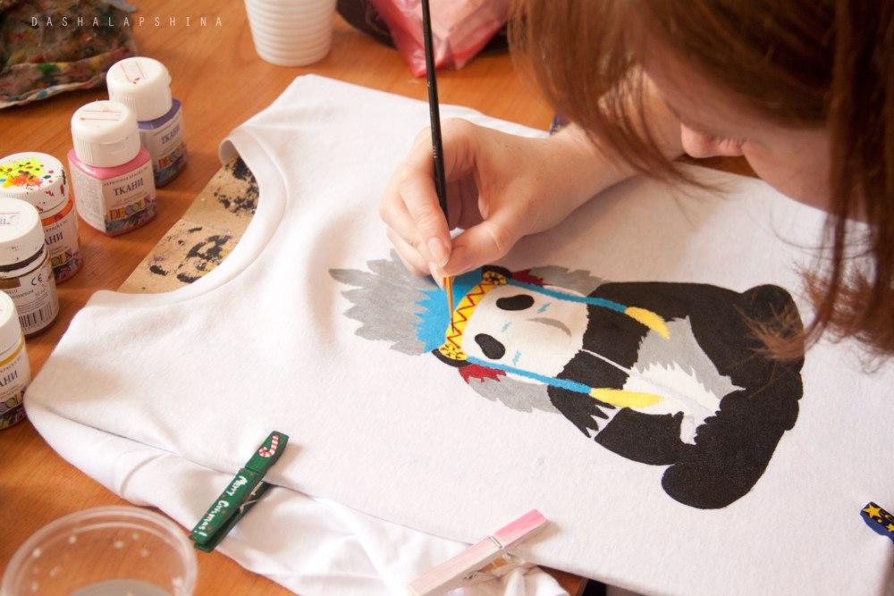 Работы мастер класс рисунок