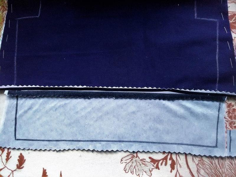 Сшить сумку из ткани пошагово фото 405