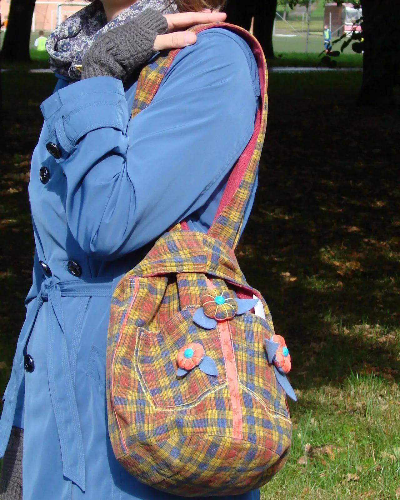 1b7a9bcc9502 Сумка через плечо своими руками (35 фото): как сшить маленькую ...