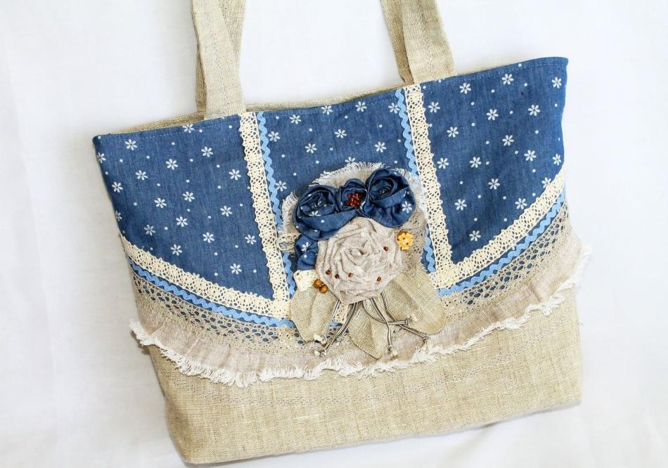c42771cb1a25 Летняя сумка своими руками (33 фото): выкройки, как сшить из льна ...
