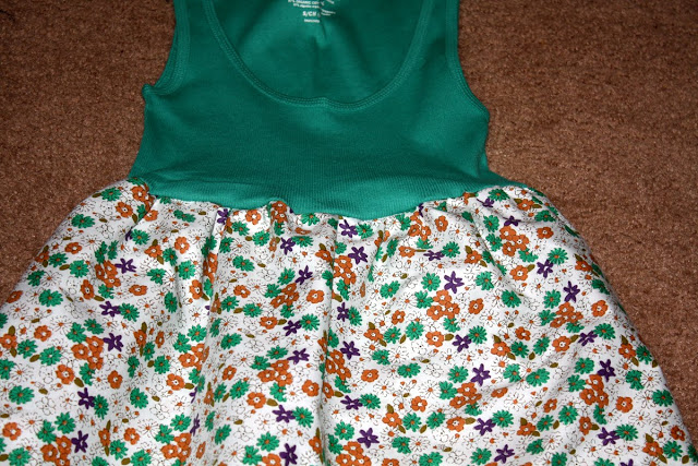 Платье сшить легко из футболки