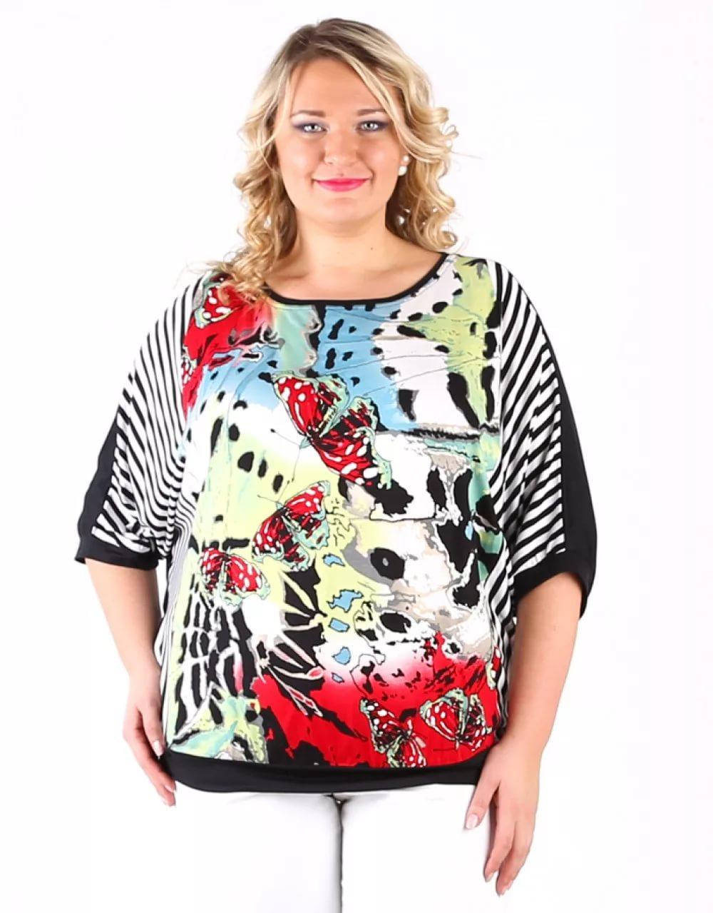 Сшить блузки своими руками на полную женщину с выкройками фото 882