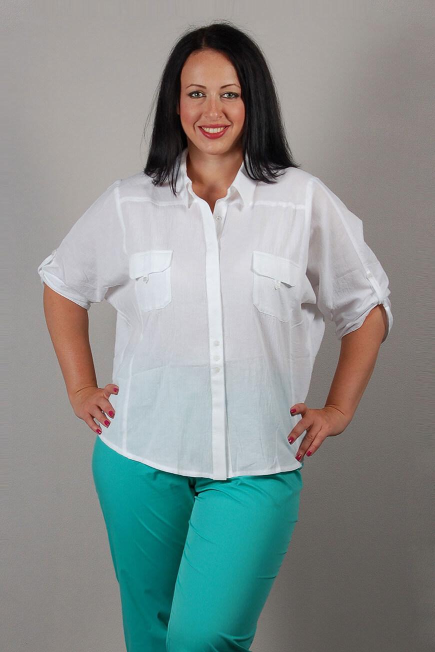 Сшить блузки своими руками на полную женщину с выкройками фото 689
