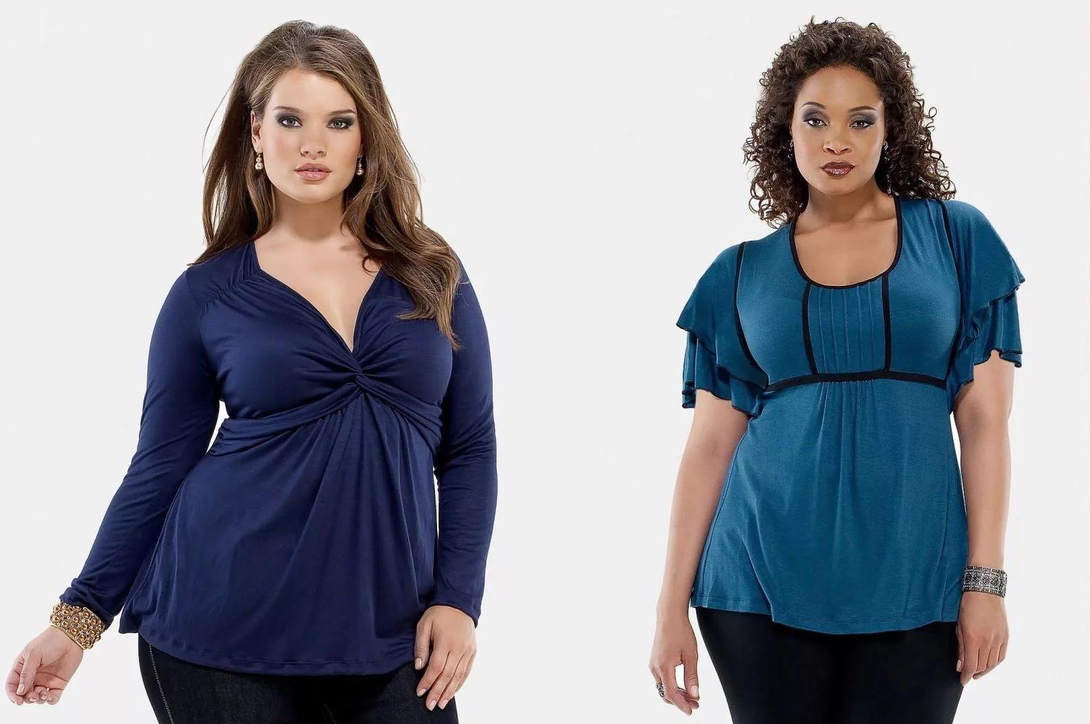 Сшить самой блузки для полных женщин фото