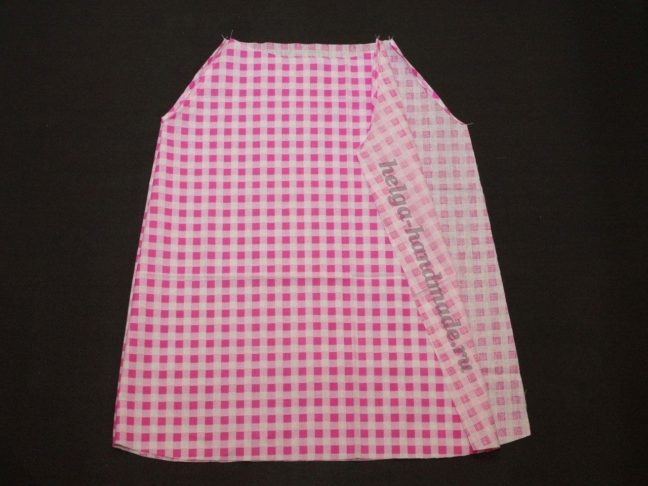 Как сшить платье сарафан для девочки своими руками