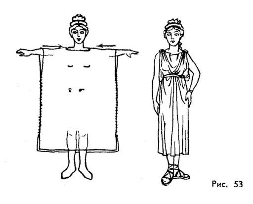 Как сшить римскую тунику своими руками 90