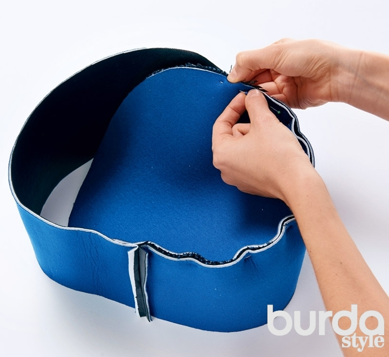 Как сшить круглые сумки 126