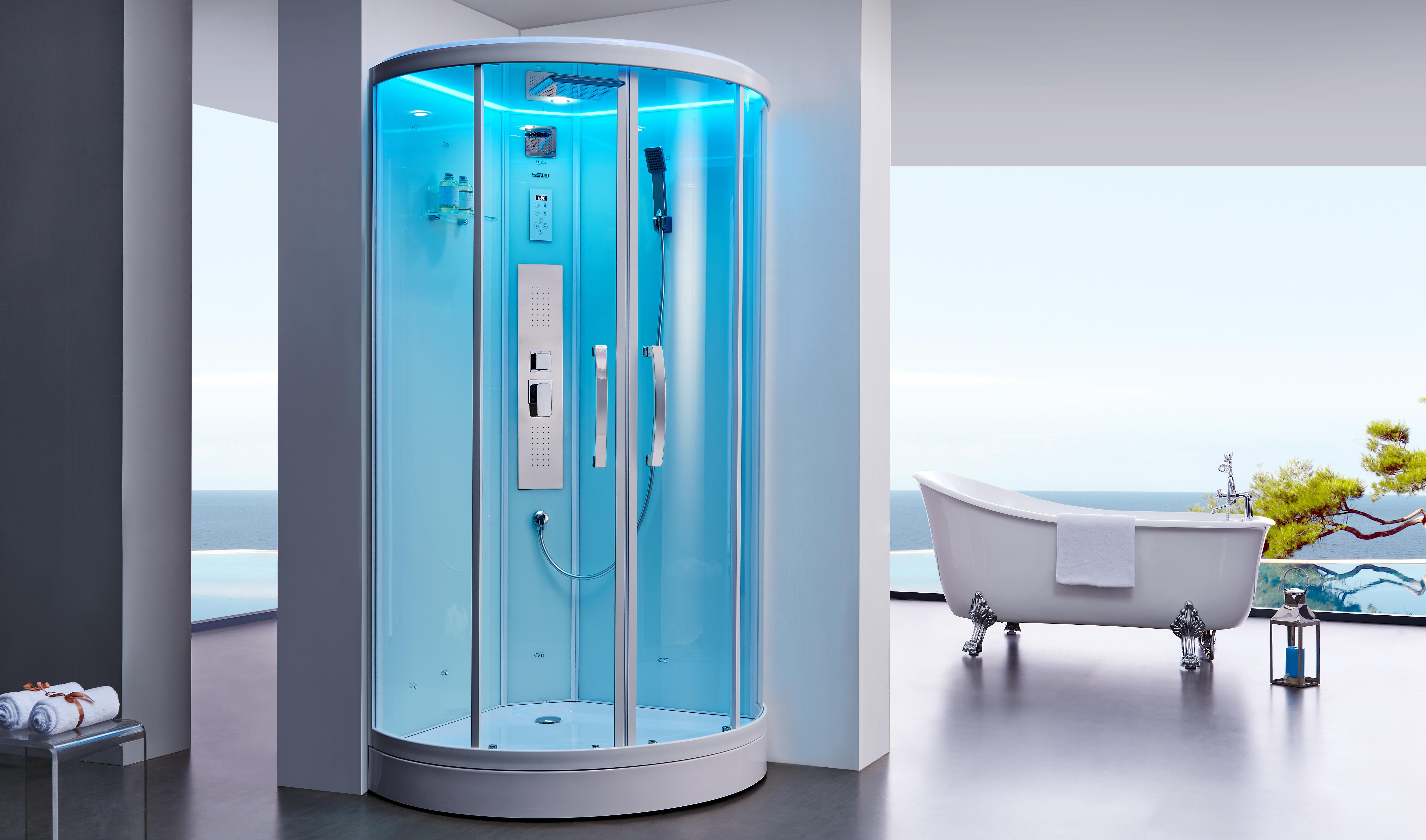 Как пробить засор в душ кабине