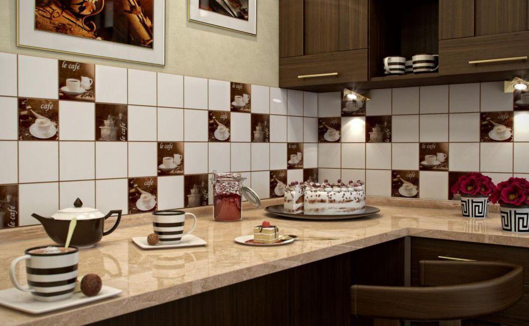 тема фото обои кухни для кофейная