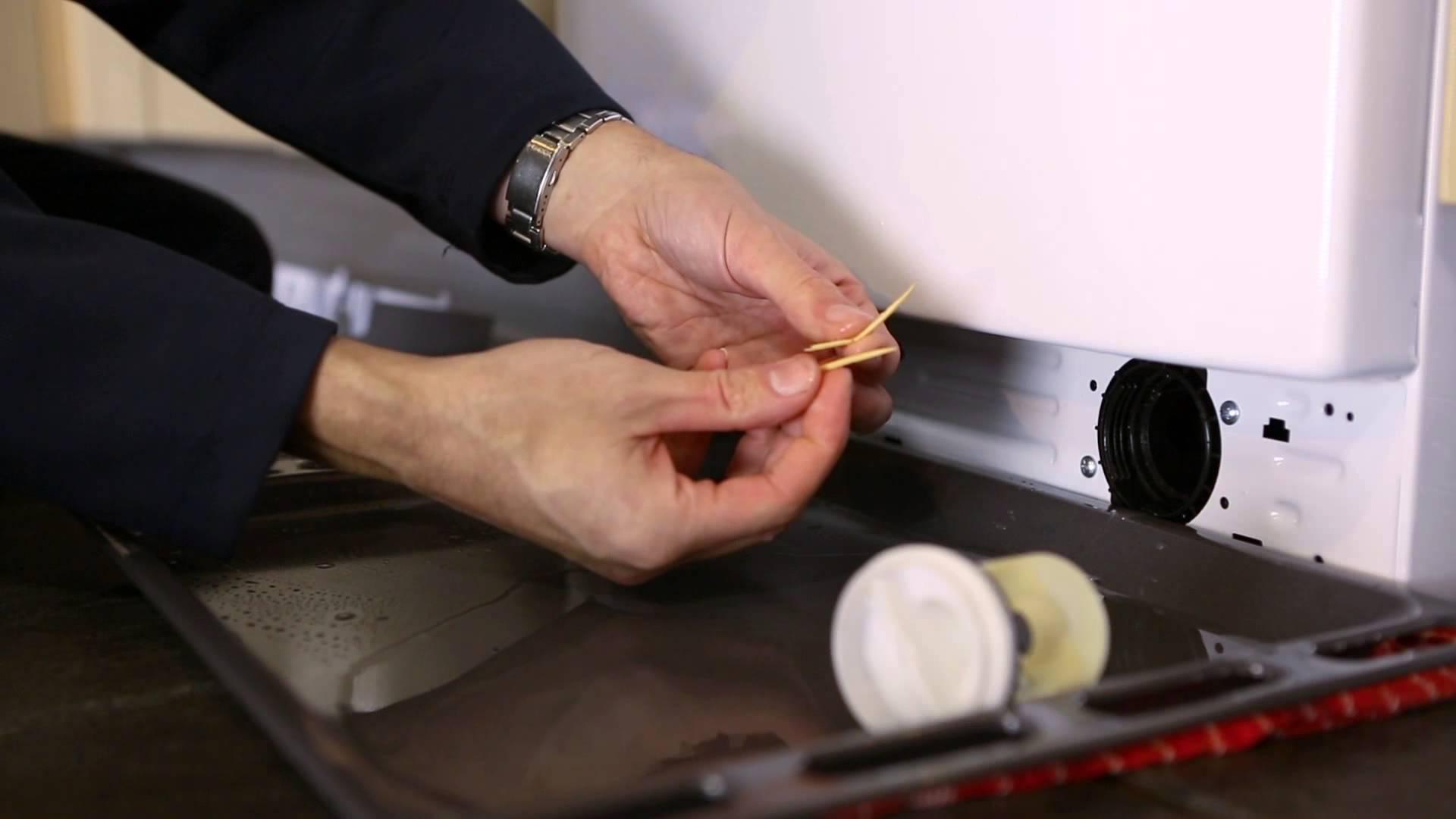 Как чистить фильтр стиральной машины