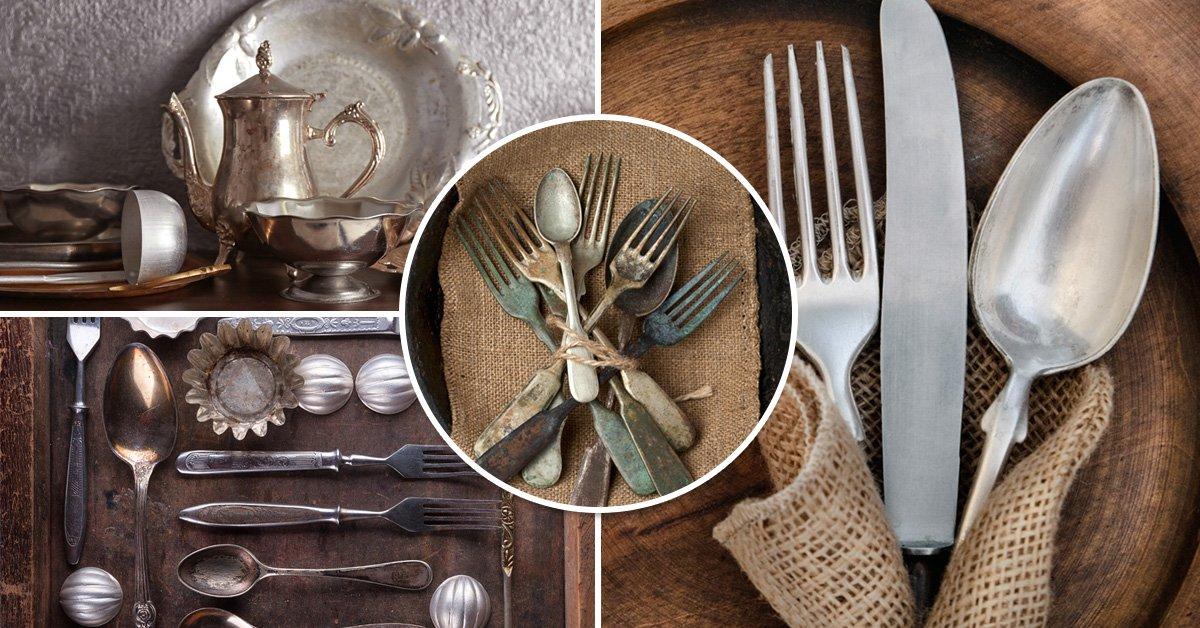 Как в домашних условиях почистить вилки и ложки 374
