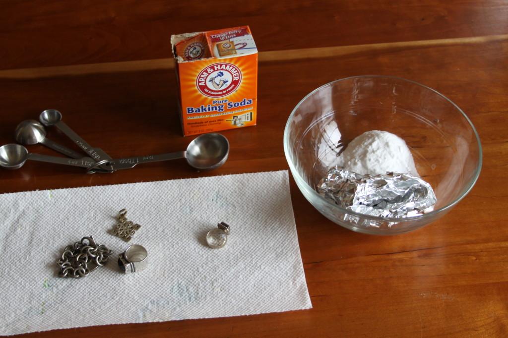 Как и чем почистить серебро в домашних условиях серьги 122