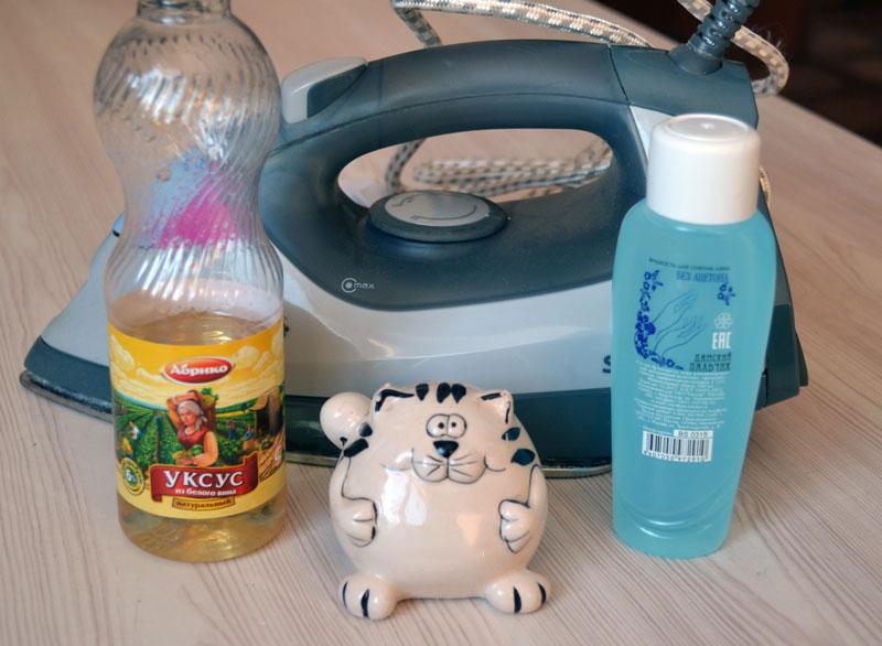 Очистка утюга от накипи в домашних условиях