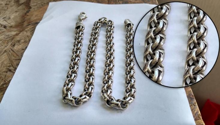 Чем отмыть серебряную цепочку в домашних условиях 247