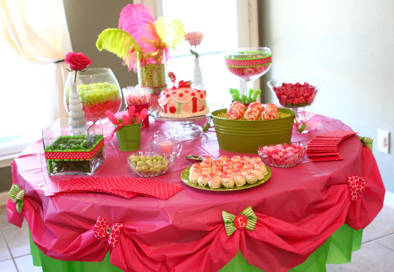 Как украсить стол детский на день рождения