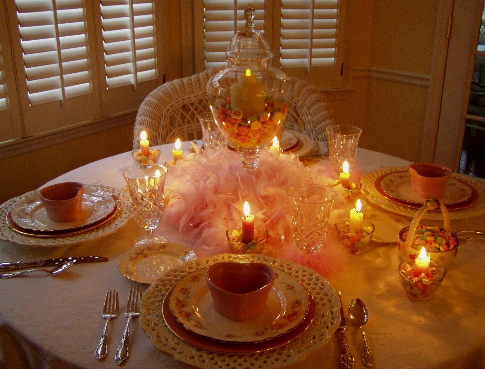 Как сделать уютный романтический ужин своими руками 34