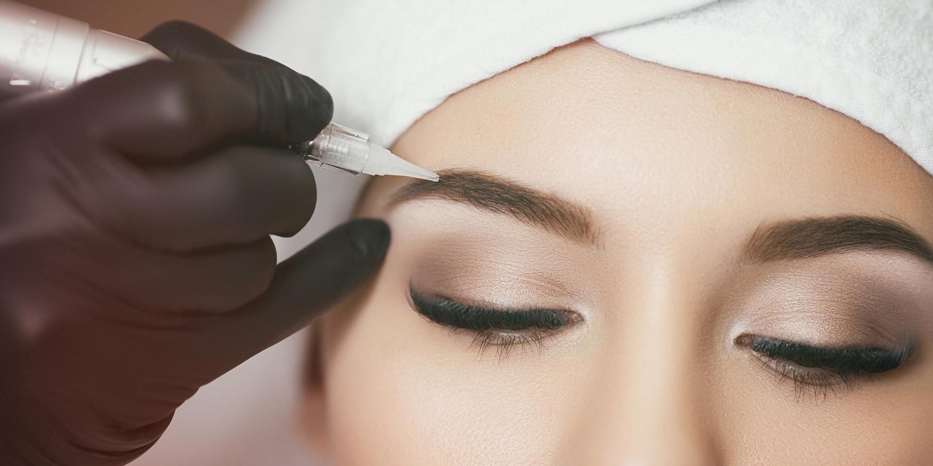 Татуаж напыление бровей: как проводится и как ухаживать за бровями после процедуры