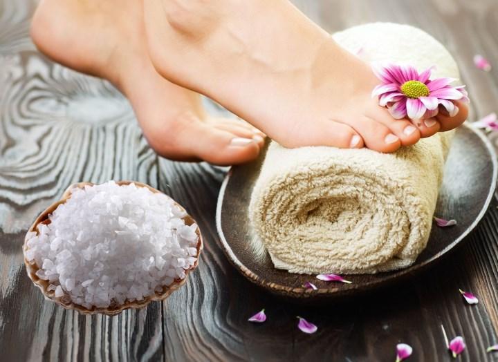 Лечение солевыми ваннами