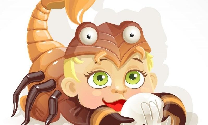 Ребенок Скорпион детский гороскоп