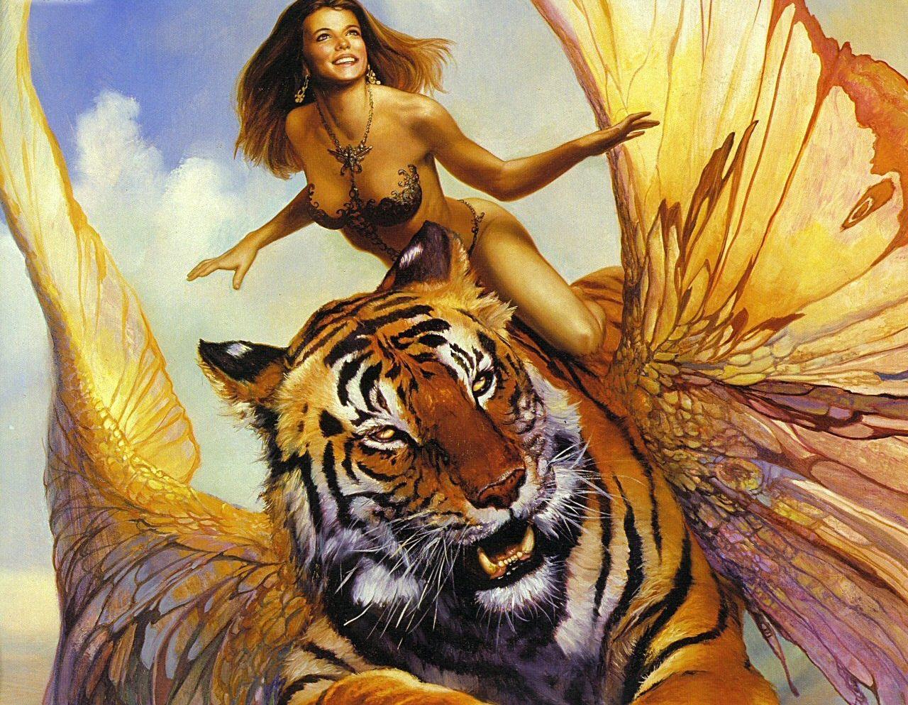 Тигрица не против разделить лавры победителя и добычу с друзьями, но горе тому, кто будет действовать у неё за спиной!