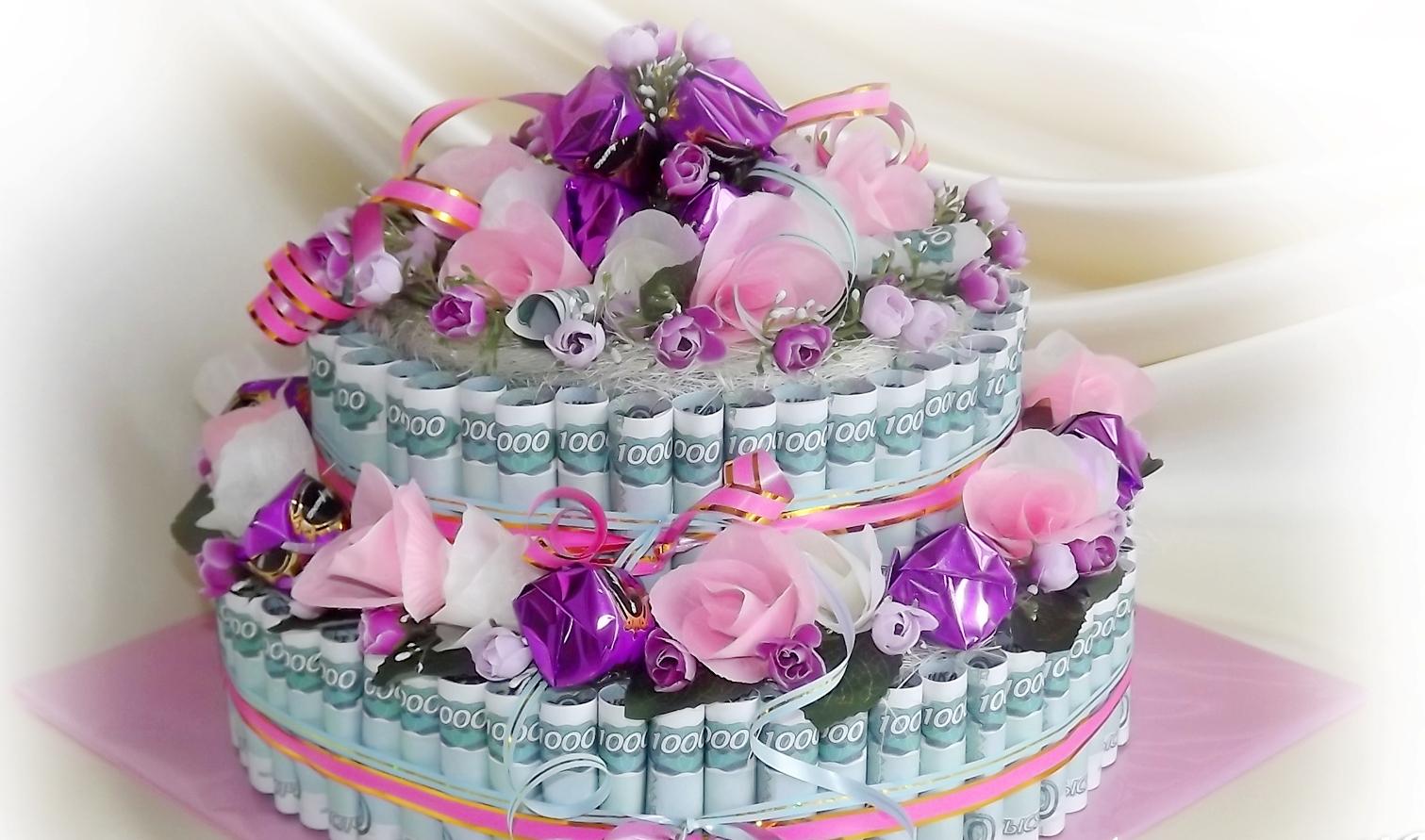 поздравления про денежный торт прикольные фото