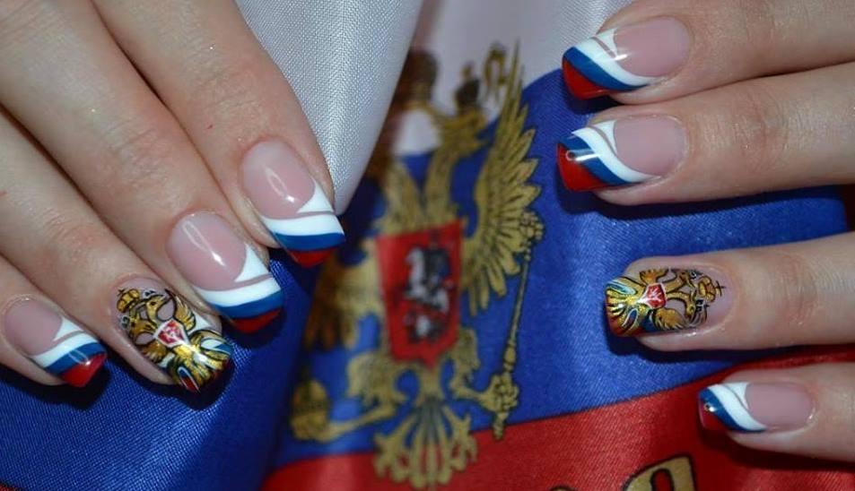 дизайн ногтей к дню победы фото может