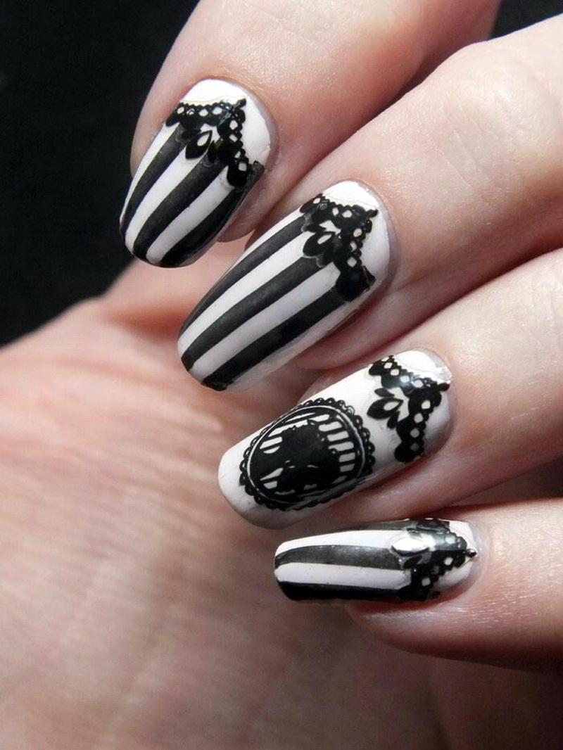 Готический дизайн ногтей: техника создания стилета и готика на натуральных ногтях рекомендации
