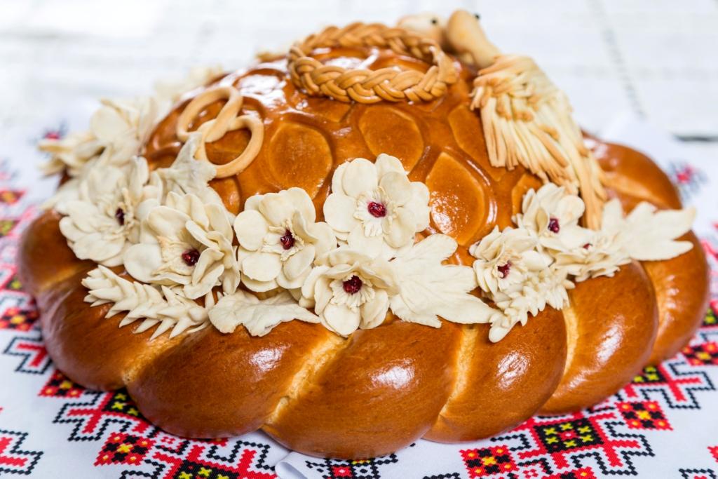 Хлебный каравай картинки