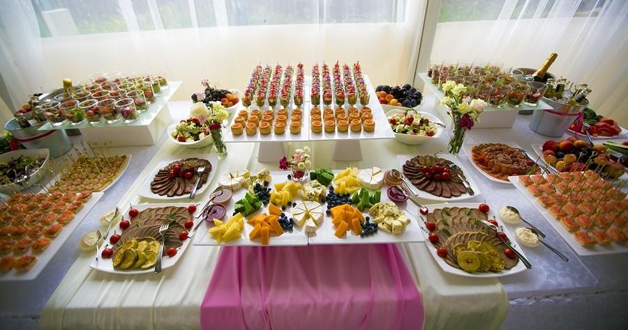 Как накрыть стол для выкупа невесты?