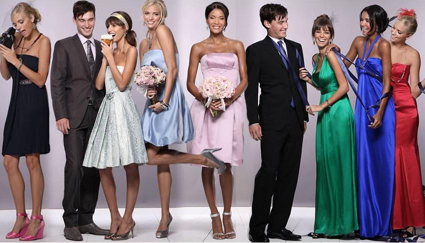 Что надеть на свадьбу гостям: платья, наряды и образы