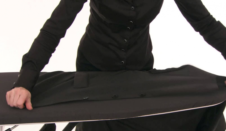 Как убрать блеск от утюга с одежды