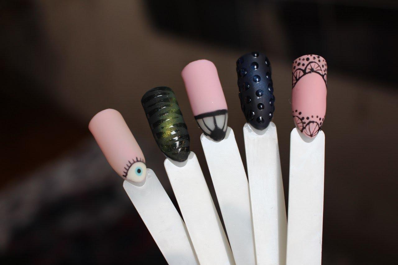 Ногти Дизайн Весна Шеллак