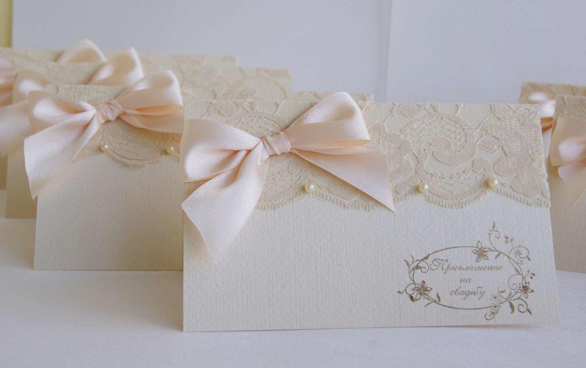 Приглашения для свадьбы своими руками, днем рождения