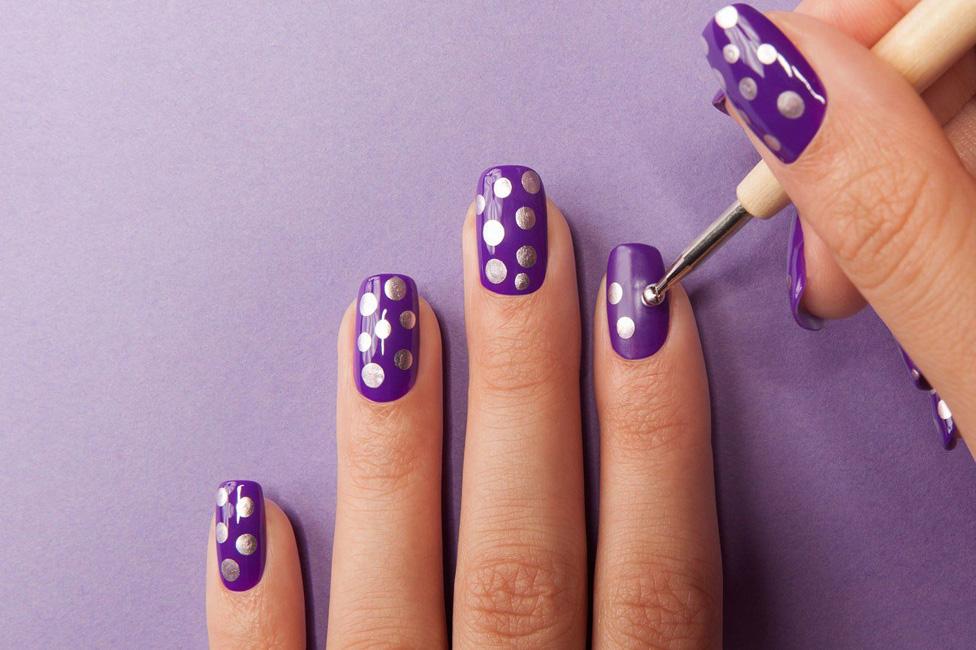 оно легкие рисунки на ногтях для начинающих фото аксессуары для волос