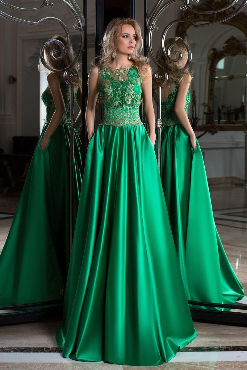 Везде зеленый цвет