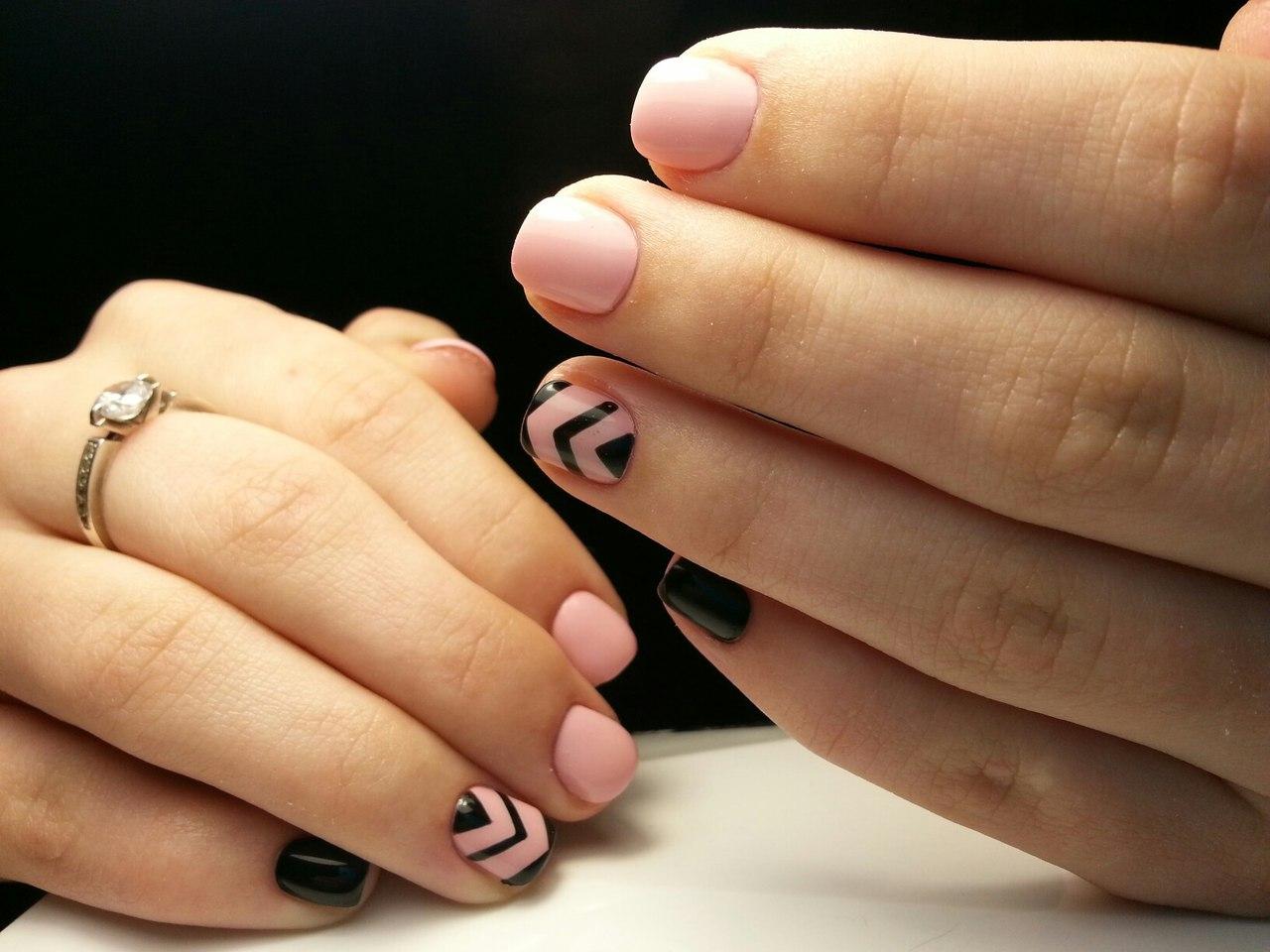 красивые маникюры картинки для коротких ногтей выдавливать себя