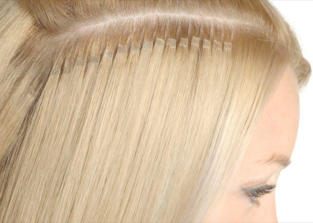 Картинка с нарощенными волосами