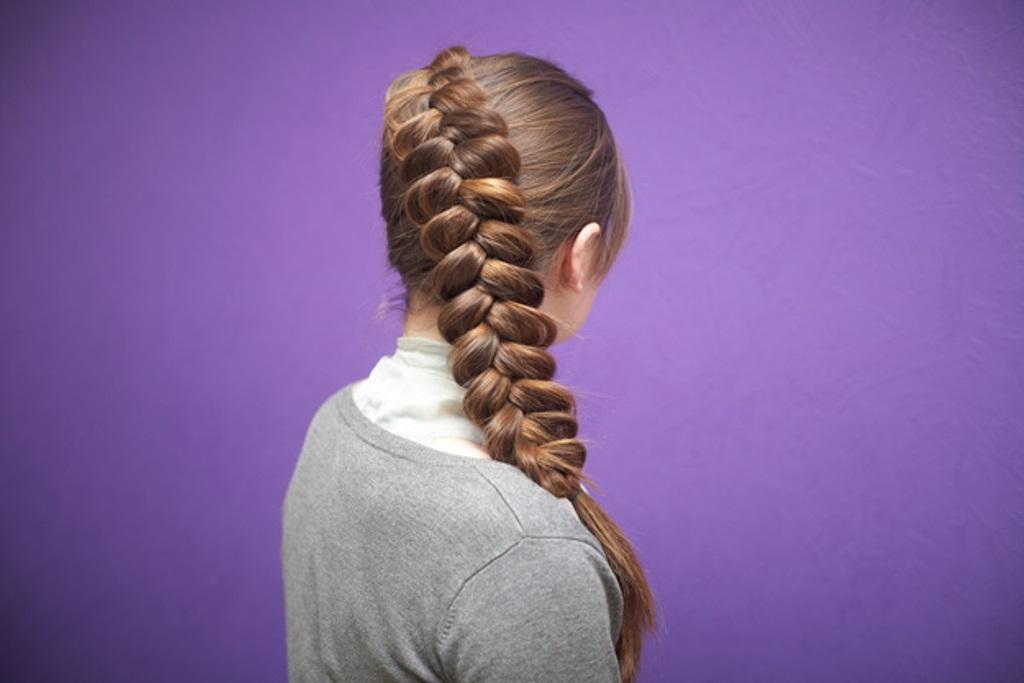 Коса наоборот картинки