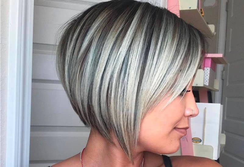 Slojevita bob frizura
