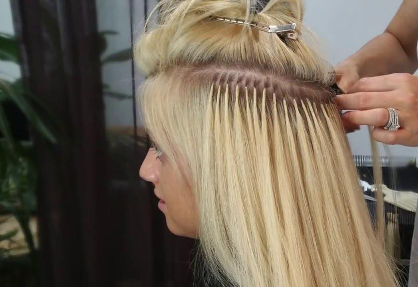 Нарощенные волосы коррекция через сколько