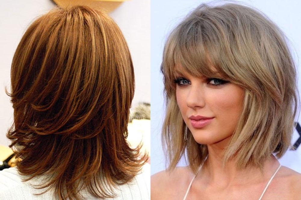 Модные прически на тонкие волосы – стрижка каскад
