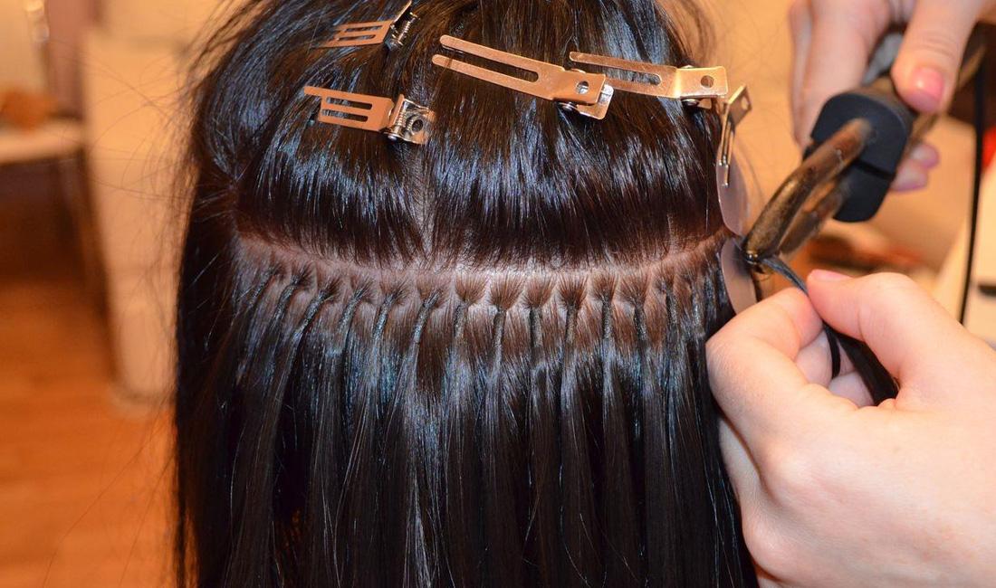 технология итальянского наращивания волос