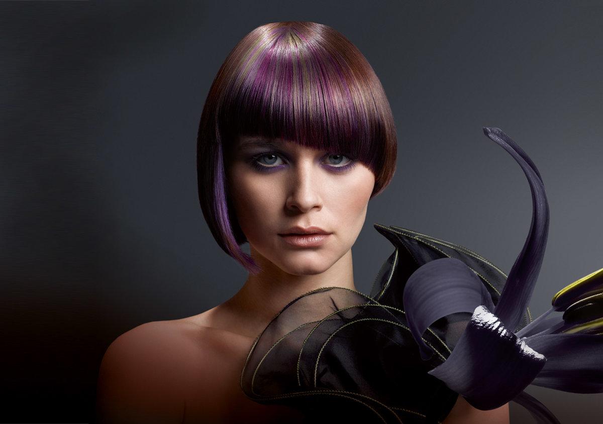 Колорирование на темные волосы (79 фото): окрашивание волос средней длины. Как сделать колорирование коротких и длинных волос в домашних условиях?