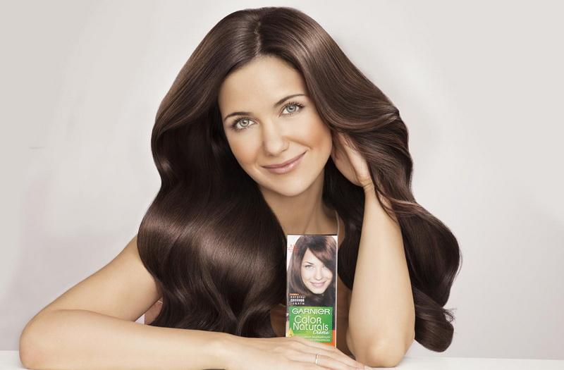 Краска для волос натуральный коричневый