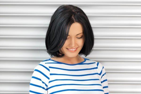 Короткое каре без челки (42 фото): пойдет ли стрижка девушкам с тонкими волосами? Укладка прямого укороченного каре, варианты причесок
