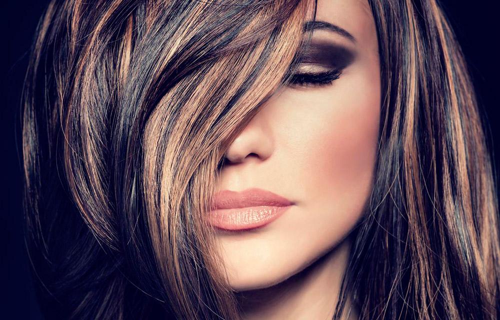 Новые техники мелирования волос