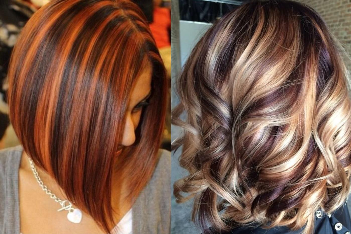 изменить колорирование темных волос фото до и после всё чаще