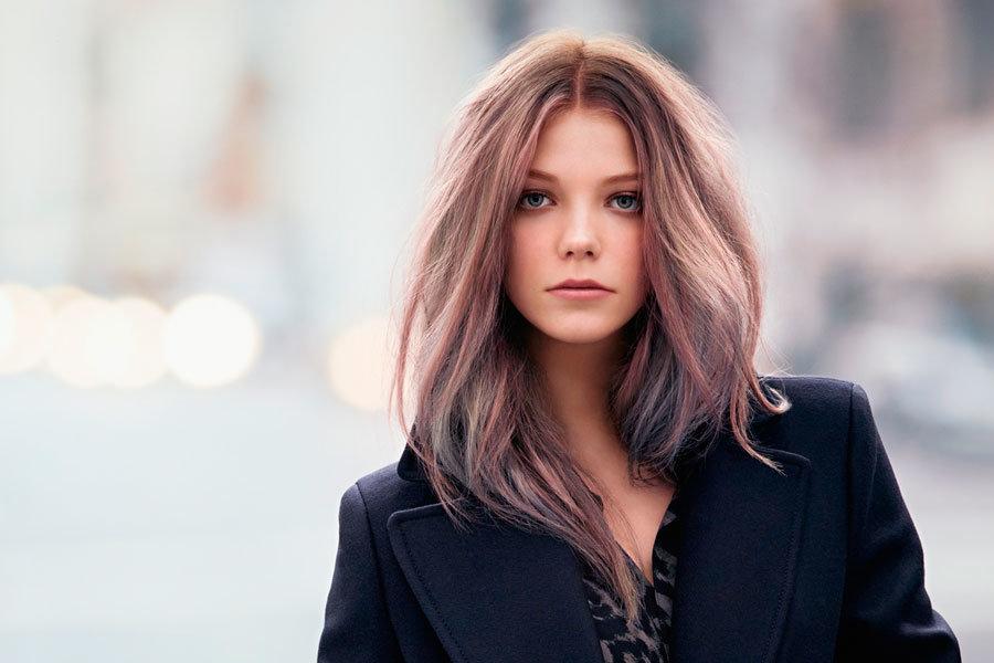 Покраска в темный цвет волос